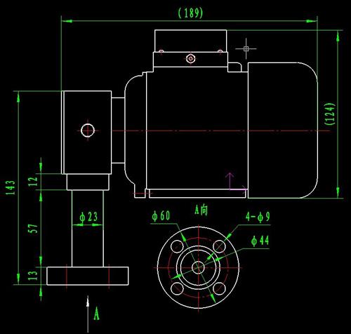 三相油泵专用异步电动机